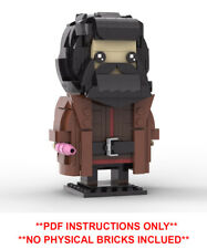 Lego Brickheadz - Harry Potter Hagrid -PDF INSTRUCTIONS ONLY - NO BRICKS - MOC