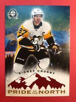 2018-19 OPC O-Pee-Chee Coast To Coast Pride Of The North #P-46 Sidney Crosby SP