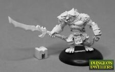 Reaper Miniatures: 07022 Wererat Boss - Metal Mini