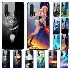 For Huawei nova 7i 6 SE 5T 5i 5 Pro Gradient Painted Tempered Glass Case Cover