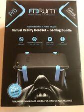 NEW Virtual Reality 3D Glasses FIBRUM Virtual Reality Headset + Gaming Bundle