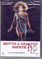 Dvd SOTTO IL VESTITO NIENTE 01 di Carlo Vanzina nuovo sigillato 1985
