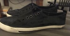 Woman's Coach Black Slip On Sneakers Size 5 1/2 Medium