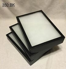"3-350 Riker Mount Display Case Shadow Box Frame Tray   12"" X 8"" X 2"""