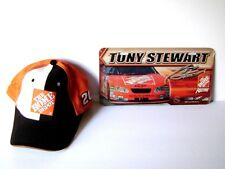 NASCAR # 20 Tony Stewart Cap/Hat And Metal Racing License Plate Car Truck Tag