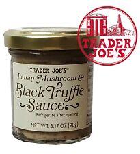🔥 Trader Joe's Italian Mushroom Black Truffle Sauce NET WT 3.17 oz 🔥