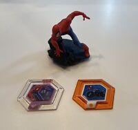 Disney Infinity 2.0 Character Figure: SPIDERMAN | Marvel Power Discs Spidercycle