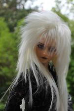 Dollfie BJD SD wig Perücke Star size 8-9 whiteblonde