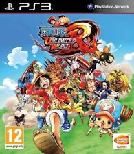 Jeu PS3 ONE PIECE UNLIMITED WORLD RED