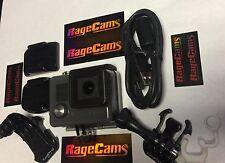 GoPro HERO+LCD Camcorder-Underwater Video Camera Waterproof W/16gb SD Card+DOORS