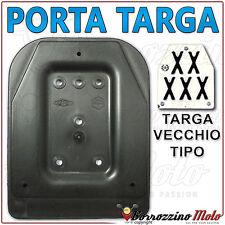 PORTATARGA PORTA TARGA VESPA 50 SPECIAL L R N PER TARGA VECCHIO TIPO