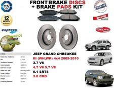 für JEEP GRAND CHEROKEE III 2005-2010 Vorderbremse Scheibensatz + Bremsbelagsatz