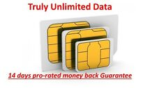 Verizon Unlimited Data 4G LTE XLTE DATA! No Throttle, No Cap, One Month included