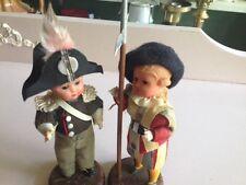 vtg Roman Boy Man Doll Roma Swiss Soldier Guard Toy figure Sleepy Eye Rome Italy