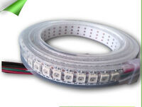 1M 144LED WS2812B Waterproof IP67 Digital strip RGB Individually Addressable 5V