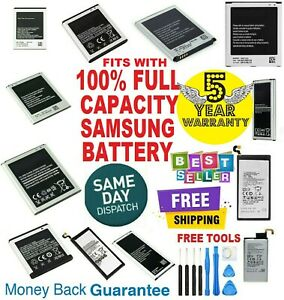 NEW Replacement Battery Fits With Samsung Galaxy Note8 S2 S5 S6 S7 S8 S9 battery