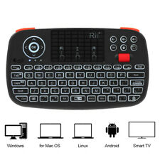 Rii i4 Mini Wireless Keyboard Bluetooth 2.4GHz Touchpad Mouse For PC TV Box H7L0