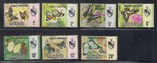 Malaysia-Negri Sembilan  1971  Sc # 85-91  Butterflies   MLH   (49708)