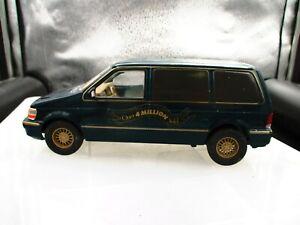 Brookfield Collectors Guild Plymouth Voyager Van Bank/ No Key
