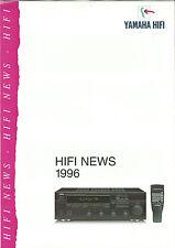 Yamaha CATALOGUE/prospectus rx-495 ax-390 tx-590 cdx-890 kx-490 kx-w592 ns-g40