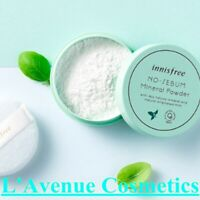 INNISFREE: No Sebum Mineral Face Powder 1+1+Gift Translucent Foundation Makeup