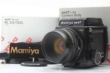 [Unused BOXED]  Mamiya RB67 PRO SD Medium Format K/L KL 127mm f/3.5 L Lens JAPAN