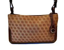 AUTHENTIC DOONEY & BOURKE CLASSIC SIGNATURE BAGUETTE CROSSBODY BAG #H2797965