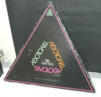 VINTAGE 1979 OSOBO THE NEW YORK TRYOLOGY GAME TRIANGULAR SHAPED GAME