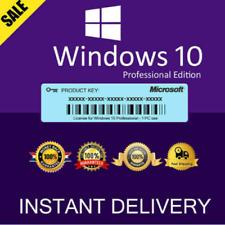 Windows 10 Pro (32/64Bit) Genuine Retail Product key - Immediate delivery
