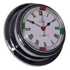 Altitude Watches & Jewelry Nautica Maritim Ship Clock Chrome Funkruhezeiten