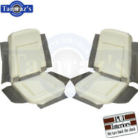 1970 GTO LeMans Body Bucket Seat Buns Foam Cushion PAIR