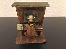 """Vintage KTC Sankyo Patina Copper Metal Piano Player Music Box 5""""x6""""x4"""" GVC!"""