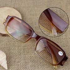 New Eyewear Reading Glasses Stylish Myopia Hyperopia Brown Eyeglasses 1.0-4.0
