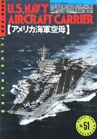 U.S.NAVY AIRCRAFT CARRIERS, PICTORIAL BOOK, KOKU-FAN ILLUSTRATED #51 JAPAN