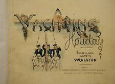 Yachting Holiday, & North Again Golfing This Time. 1880s Scotland Golf & Sailing