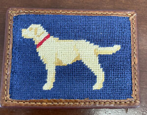 NEW Smathers & Branson Yellow Lab Credit Card Wallet