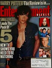 Tom Welling - Smallville (2001) Cover (entire mag) Entertainment Weekly
