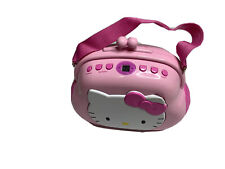 Hello Kitty Stereo Pocketbook Purse AM/FM Stereo CD Player KT2027