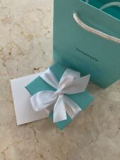 Authentic Tiffany & Co. Box, Paper Bag, Ribbon & Note Card-Brand New