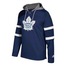 Toronto Maple Leafs NHL Men's Dark Blue Team Platinum Jersey Pullover Hoodie