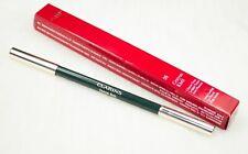 CLARINS Crayon Khol 09 Intense Green Long Lasting EyeLiner Pencil/Blending Brush