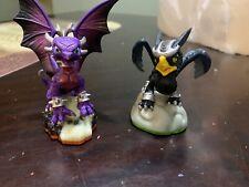 Skylanders Giants Series Cynder and Sonic Boom Figures