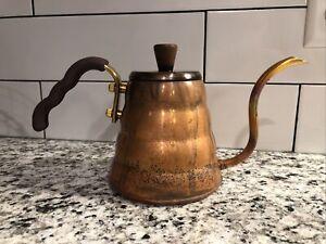 """Hario VKBN-90CP """"Buono"""" Drip Kettle, Copper"""
