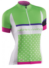 Northwave Logo SS Damen Jersey Gr.L Green/White