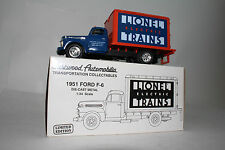 FIRST GEAR EASTWOOD AUTOMOBILIA 1951 FORD F-6, LIONEL TRAINS, 1:34 SCALE, BOXED