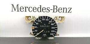 MERCEDES BENZ  W201 2.6 Instrument Cluster  Speed   Gauge 240Km/h