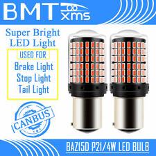 2x Canbus 1157 BAZ15D LED Bulb Car Lamp Tail Stop Brake Lamp Turn Signal Red