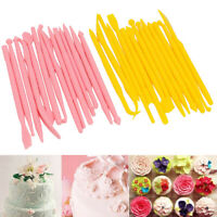 KQ_ KE_ BU_ 14Pcs Cake Modelling Tools Set DIY Fondant Clay Cutter Sculpting Pen