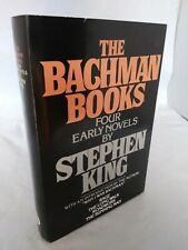 The Bachman Books Four Early Novels RAGE Stephen King HCDJ Book Club Edition