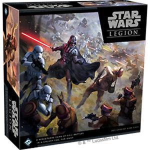 Star Wars Legion Core Set - New & Sealed - Fantasy Flight Games - Unpainted